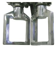 Frame type blades (2 pieces)